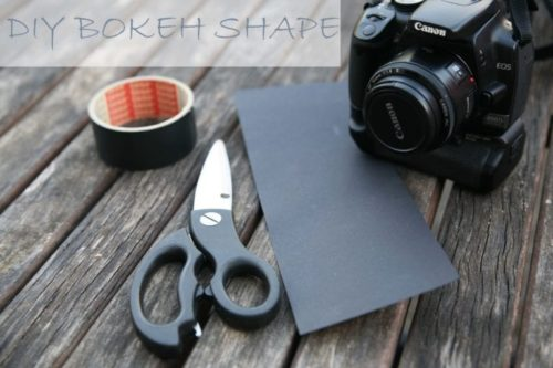 DIY Bokeh Shape