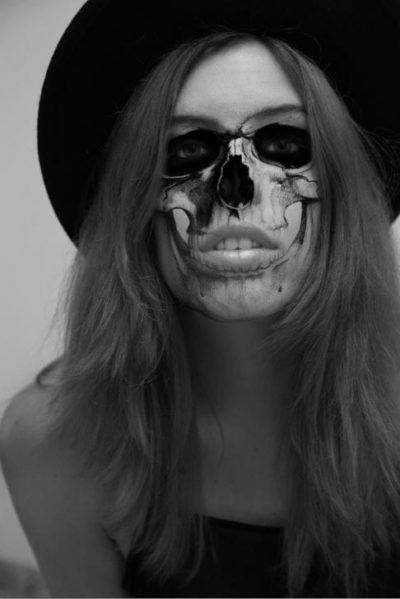 Skull Halloween Portrait