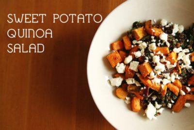Quinoa Sweet Potato Feta Salad
