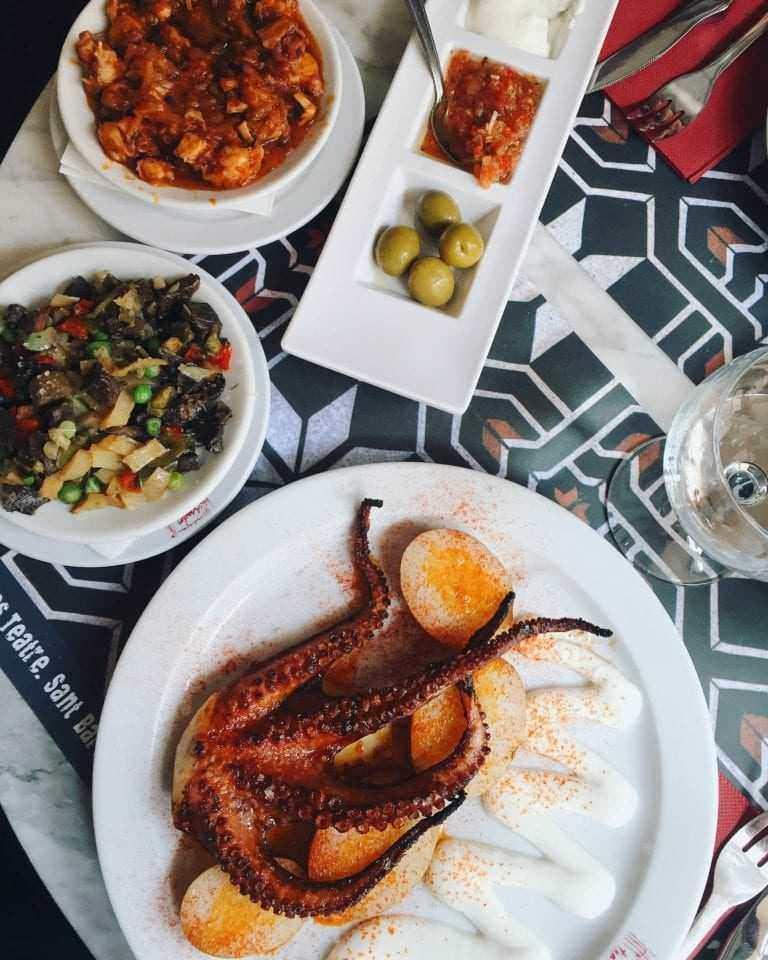 Asador Es Theatres Food - Majorca