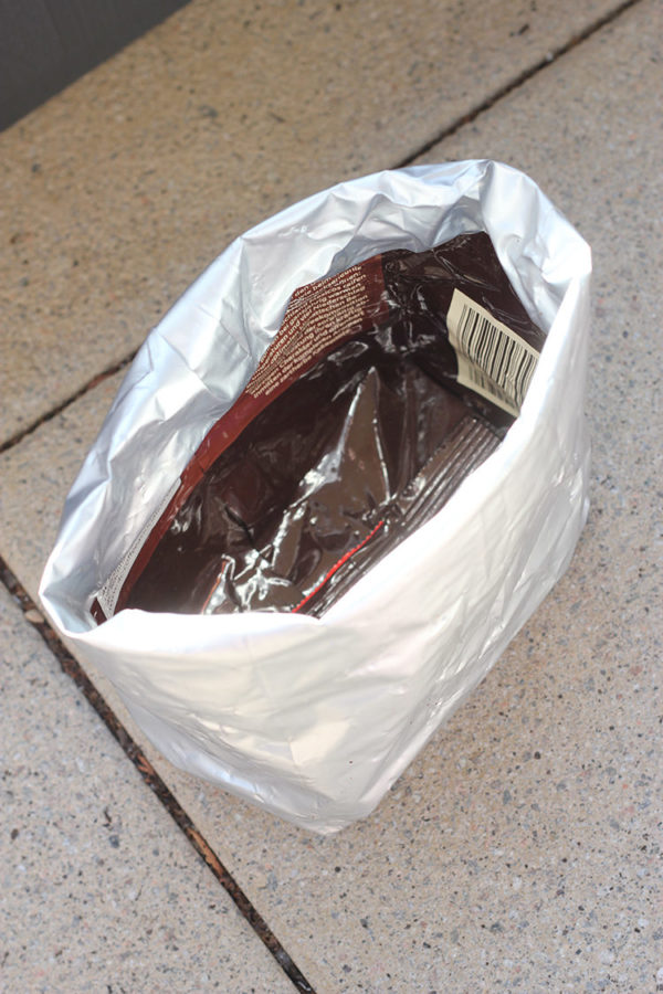 foil lined coffee bags recycle