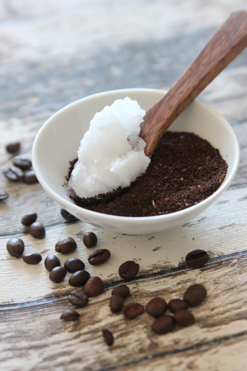 coffee scrub DIY