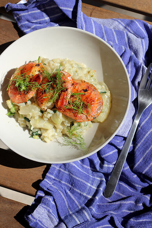 Recipe: Fennel Risotto